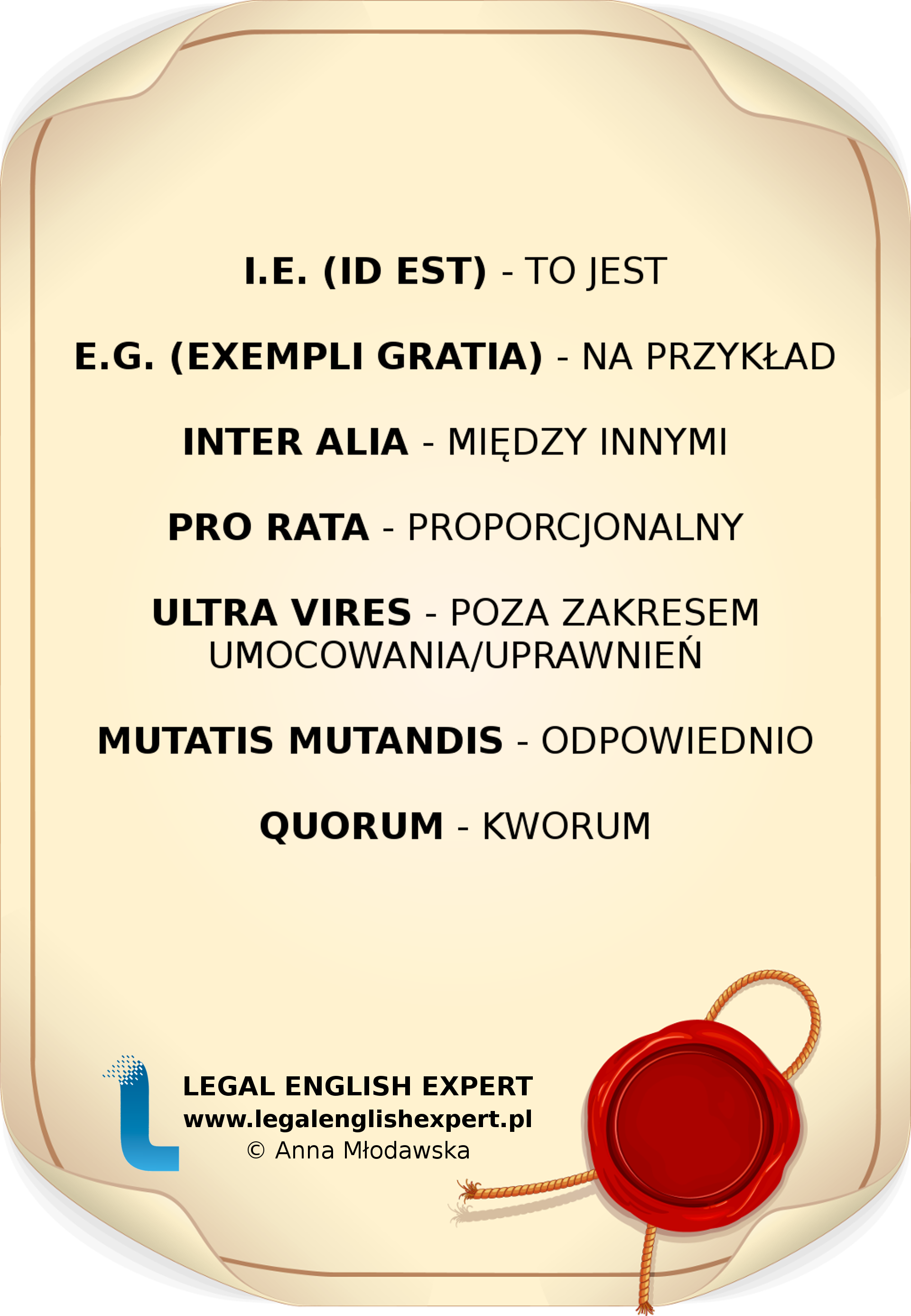 LEGAL ENGLISH EXPERT - infografika_13 - łacina