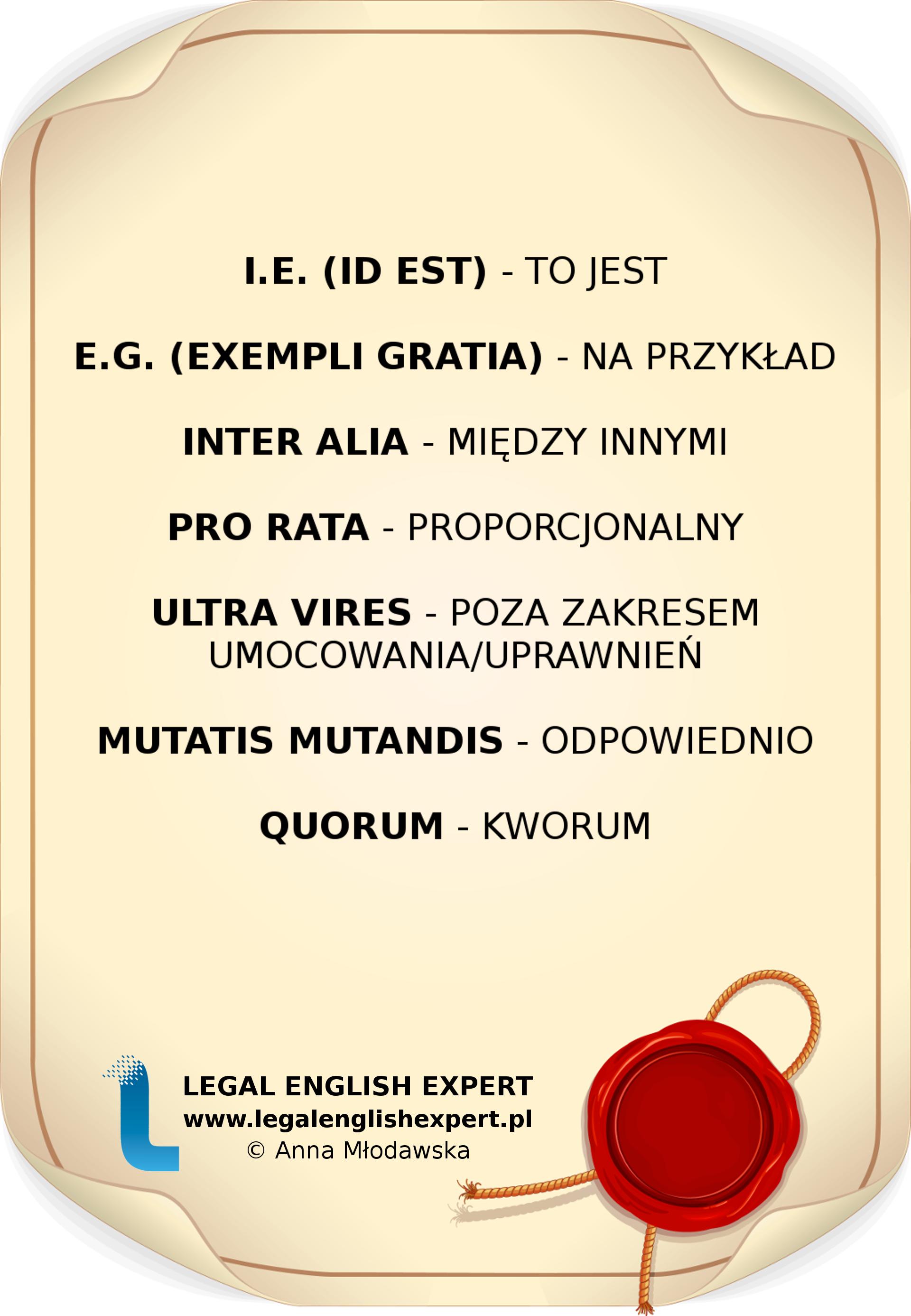 LEGAL ENGLISH EXPERT - infografika_13 - łacina