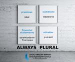 Always plural