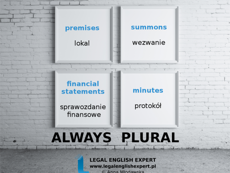 LEGAL ENGLISH EXPERT - infografika_28 - always plural