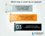 WHAT MAY A COURT DO ON APPEAL? Infografika, definicje, przykład i polskie odpowiedniki