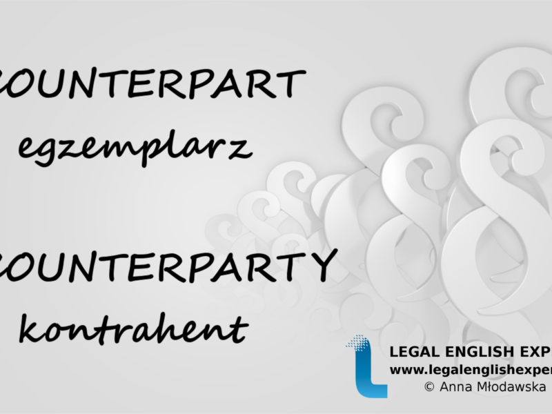 LEGAL ENGLISH EXPERT - infografika_45 - counterpart