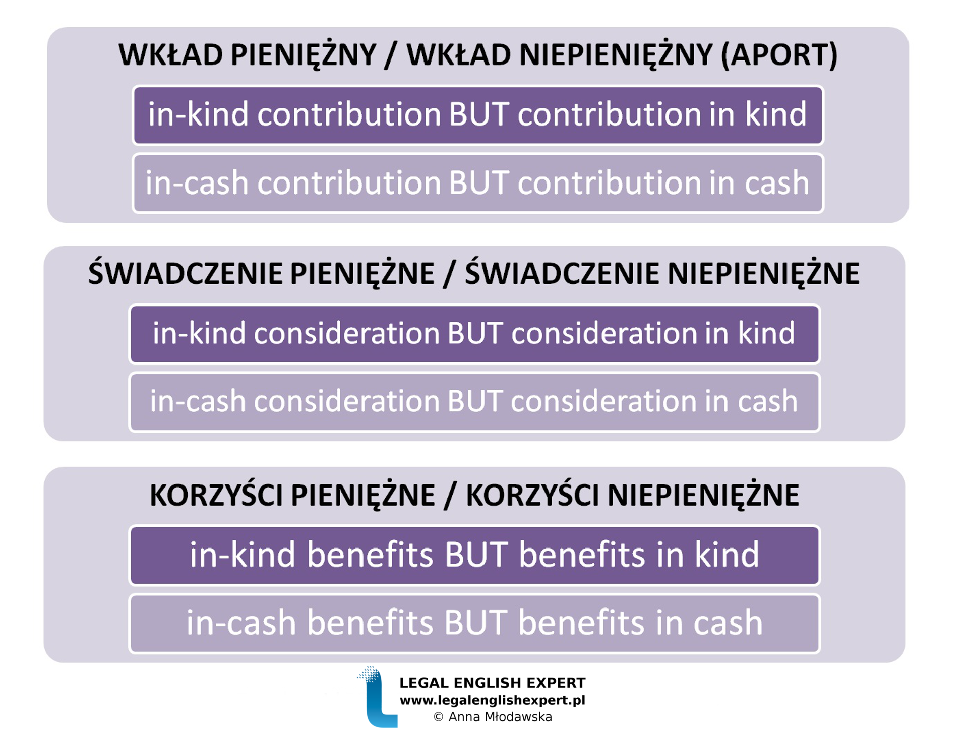 LEGAL ENGLISH EXPERT - infografika_51 - wkład pieniężny