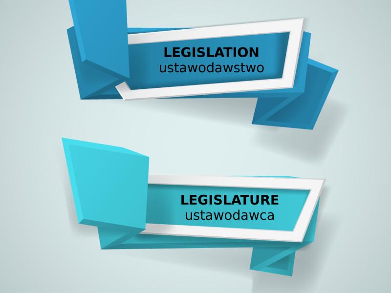 LEGAL ENGLISH EXPERT - infografika_69 - LEGISLATION