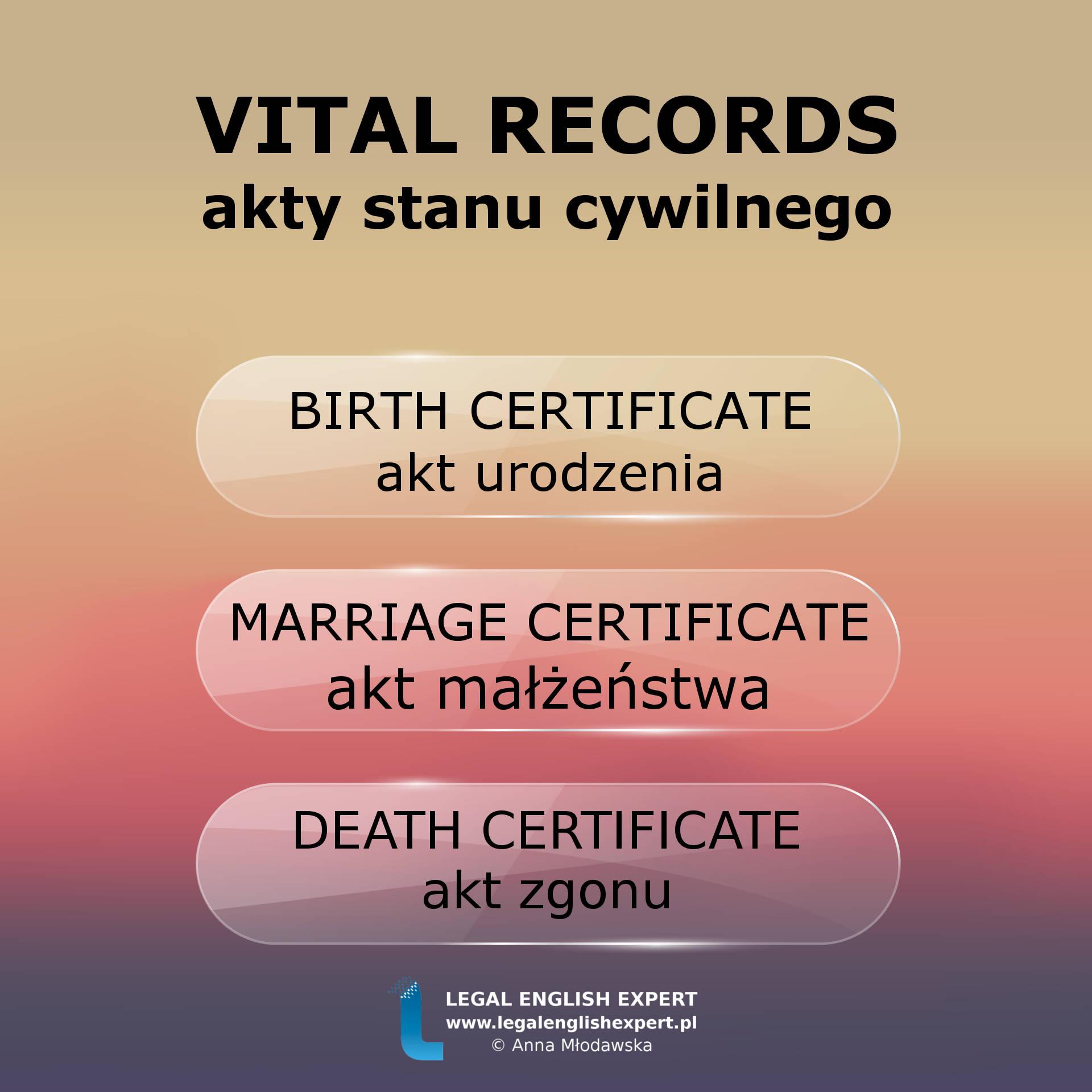 45 - vital records