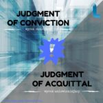 Nowa infografika: Judgment of Conviction vs. Jugdment of Acquittal